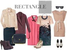 Body Type, Rectangle Body Shapes, Rectangle Fashions, Wedding Dress, Dress Styles, Shape Dressing, Body Shape Rectangle