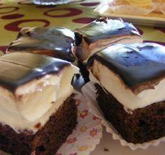 Hungarian Desserts, Hungarian Recipes, Sweet Cookies, Cake Cookies, No Bake Desserts, Dessert Recipes, Yummy Treats, Yummy Food, Cake Bars
