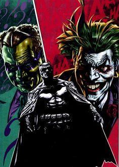 Riddler and Joker Haunt Batman