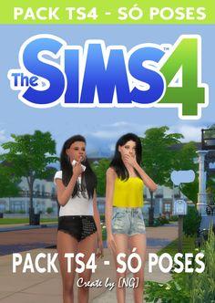 Nathys Sims: Pack 2 - Só Poses [NG]