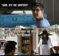 The Mindy Project- Church clothes Hands down the funniest moment from season 1!