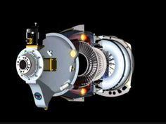 Pratt & Whitney PT-6 Initial Separator operation - YouTube