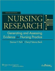 Test Bank for Nursing Research 9th Edition Polit. Instant download and all chapters are included.