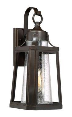 "Quoizel LTE8409FL Lighthouse Single Light 20"" Tall Outdoor Lantern Style Wall Sc Palladian Bronze Outdoor Lighting Wall Sconces"