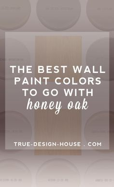 the best wall paint colors to go with honey oak | green wallpaper