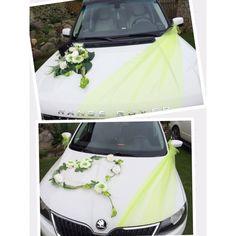 Wedding Car Decorations, Balloon Decorations, Bridal Car, Flower Bouquet Wedding, Flower Arrangements, Marie, Wedding Day, Dresses, Weddings