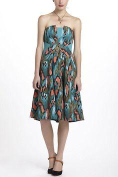 Painted Ikat Dress - Anthropologie.com