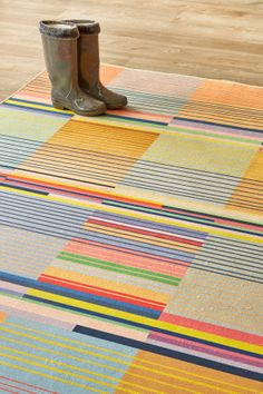 Bauhaus Muted: X metres. Please note that, as these printed rugs are mad. Rug Company, Indoor Outdoor Living, Rug Making, Furniture Projects, Accent Colors, Bauhaus, E Design, Color Splash, Cool Designs