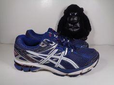 Mens Asics Gel GT 1000 Running Cross Training shoes size 10 US T4K3N #ASICS #RunningCrossTraining