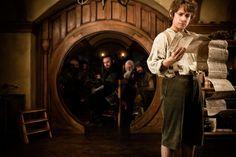 Bilbo nella sua casa