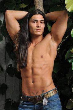 Humpemsquaw native american male model