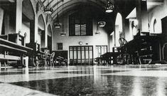 Mazzuchelli Hall, the original library at Dominican University, it is now a popular reading and studyroom