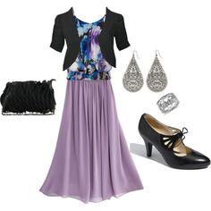 """Floral Pretty"" - Modest Trendy Fashion"
