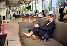 """Gute Frau mit guten Ideen: Alex Eagle, Kreativdirektorin von """"The Store""""."""