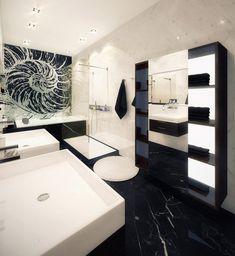 Modern Condo Design modern condo design filled with popular furniture | bath room