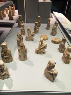 The Lewis chessmen - British Museum