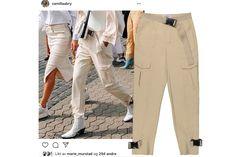 Strikkeoppskrift: Camilla Pihls Mari-genser   ELLE Norge Harem Pants, Khaki Pants, Fashion, Moda, Harem Jeans, Khakis, Harlem Pants, Fasion, Fashion Illustrations