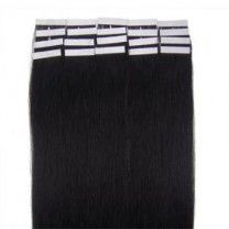 Scared of the damage of glue but don't like clip-ins?? Here is a nice alternative tape weave offered in many colors.