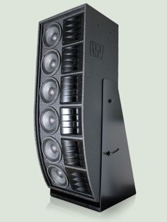 LW 8105 - High power screen medium/treble high power system with Line Array Technology with 6 x medium drivers plus 6 x compression drivers + 6 x isophasic horns. Fi Car Audio, Pro Audio Speakers, High End Speakers, Tower Speakers, High End Audio, Speaker Box Design, Subwoofer Speaker, Professional Audio, Monitor