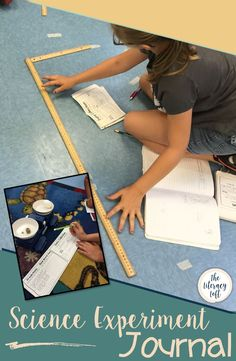 Science Experiment Journal // This booklet is an organizational tool for students to plan, set up, and conduct a Science Experiment for Science Fair or it could be used throughout the year for any Science experiment. Science Fair Experiments, Science Lessons, Science Projects, Sixth Grade, Third Grade, Harvard Students, Science Notebooks, Resource Room, Stem Activities