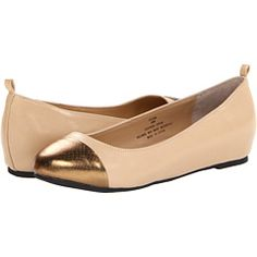 Fitzwell Ryann- perfect nude flat with a metallic accent?
