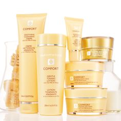 Comfort Deluxe Collection - Clinically tested at a leading UK hospital, Comfort was proven to be compatible with highly sensitive skin in 98% of cases, confirming that it's the ideal choice for sensitive skin. Free from gluten, colour, fragrance and alcohol.  https://www.nutrimetics.com.au/juliegilbody/Skincare/Sensitive_Skin.aspx