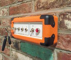 Orange clé Rack porte clefs mural porte-clé ampli guitare