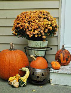Painting Pumpkins: Holiday Decor