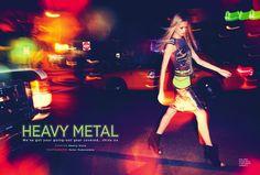 heavy metal: vika costa by peter pedonomou for uk cosmopolitan june 2013 | visual optimism; fashion editorials, shows, campaigns & more!