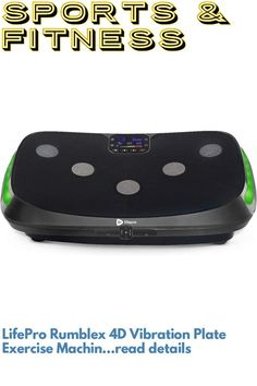 (This is an affiliate pin) LifePro Rumblex 4D Vibration Plate Exercise Machine - Triple Motor Oscillation, Linear, Pulsation + 3D/4D Vibration Platform - Whole Body Viberation Machine for Home, Weight Loss & Shaping. Exercise Machine, Workout Machines, Plates, Cardio, Fitness, Platform, Weight Loss, Training, 3d