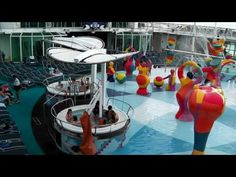 Independence of the Seas Rapid Tour around the UK favourite cruise ship. The third of the Freedom Class ships is not to be missed. Sails from Southampton in summer and Caribbean during the winter. See why it is voted Britain's favourite ship.