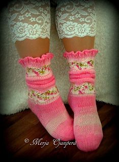 Ravelry: Karkit pattern by Merja Ojanperä Diy Crafts Knitting, Loom Knitting, Knitting Patterns Free, Knitting Socks, Hand Knitting, Crochet Slipper Boots, Knitted Slippers, Wool Socks, Crochet Socks Pattern