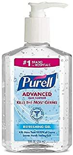 Purell Advanced Hand Sanitizer Rafraichissant Gel 8 Oz
