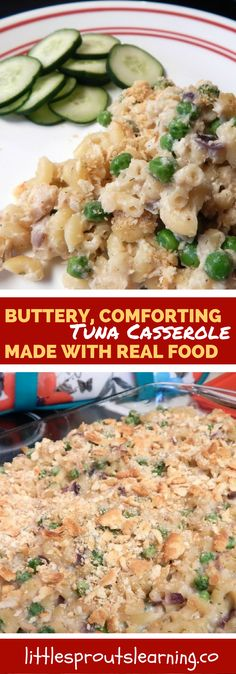 Do you need a new menu for dinner that isn't super difficult but the whole family will love? I make tuna casserole for my daycare kids and they love it!