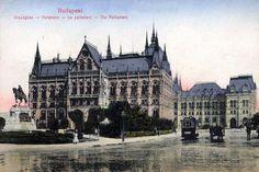 Budapest Parliament Building 1913