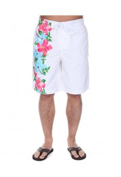 High Quality Men's Clothing from Officers Club Holiday Clothes, Holiday Outfits, Mens Swim Shorts, New Look, Latest Trends, Floral Prints, Boys, Summer, Swimwear