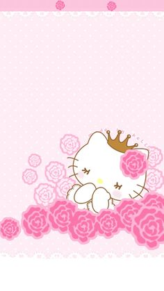 Pink super sonic and hello kitty sleepy beauty wallpapers Pink Hello Kitty, Hello Kitty Themes, Hello Kitty My Melody, Hello Kitty Pictures, Hello Kitty Birthday, Sanrio Wallpaper, Kawaii Wallpaper, Cute Wallpaper Backgrounds, Cute Wallpapers