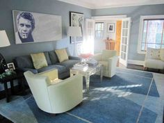 and grey living room gray design ideas photos transitional photo in charlotte with walls a stard fireplace — classic navy