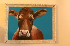 Cow painting.