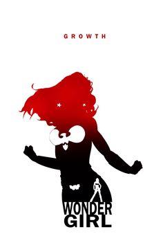 Wonder Girl - Growth by Steve Garcia