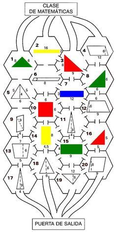 """Observaciones: Este laberinto se ha pensado para que los alumnos de 12-13-14 años repasen las fórmulas de áreas de algunos polígonos sencillos: triángulo, cuadrado, rectángulo, paralelogramo, trapecio. El laberinto esta sacado del libro """"Proyecto Azarquiel: Matemáticas 2º de ESO"""" del grupo Azarquiel al que pertenezco, libro publicado por Ediciones de la Torre (ISBN: 84-7960-192-2) Nivel:…"""