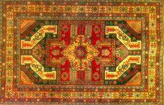 Dragon carpet, eagle design, XIXth century, Yerevan, State Historical Museum...