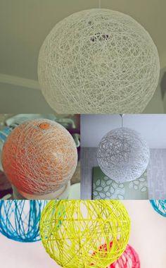 Was ihr braucht: - Vaseline - Einen gro�en Luftballon - Tapetenkleister - Wolle - Eimer (-Lampenfassung) Als erstes r�hrt ihr einen Eimer Tapetenkleister laut Packungsanweisung an. (bekommt ihr in jedem Baumarkt) W�hrend dieser aush�rtet k�nnt ihr schon...