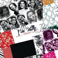 Diseño exclusivo de Pura Maña Ideas, Textil Patchwork,de la linea TANGO