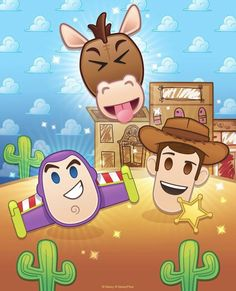 🤠 The Challenge has begun, with Bullseye available in the Diamond Box for the first time! Play to prep for next… Disney Games, Disney Toys, Disney Movies, Cute Disney, Disney Art, Disney Pixar, Festa Toy Story, Toy Story Party, First Animation