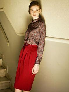 Samantha Sotos - womenswear ready to wear collection. Waist Skirt, High Waisted Skirt, Ready To Wear, Women Wear, Skirts, How To Wear, Clothes, Collection, Vintage