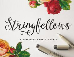 Echa un vistazo a este proyecto @Behance: \u201cSwingfellows Typeface\u201d https://www.behance.net/gallery/18898033/Swingfellows-Typeface
