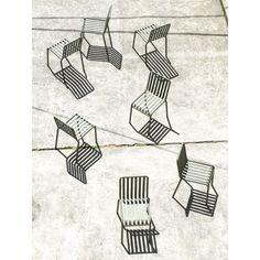 Palissade stol, olive – Hay – Kjøp møbler online på Room21.no