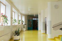 paimio - sanatorium of Alvar Aalto Alvar Aalto, Healthcare Architecture, Interior And Exterior, Interior Design, Walter Gropius, Space Place, Frank Lloyd Wright, Postmodernism, Finland