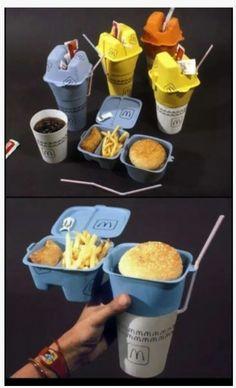 New McDonald's Takeout Box (fake but hella funny)